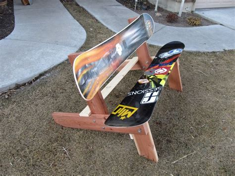 Snowboard Bench Plans Free