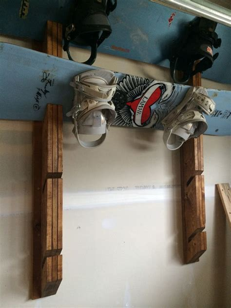 Snowboard Rack Diy
