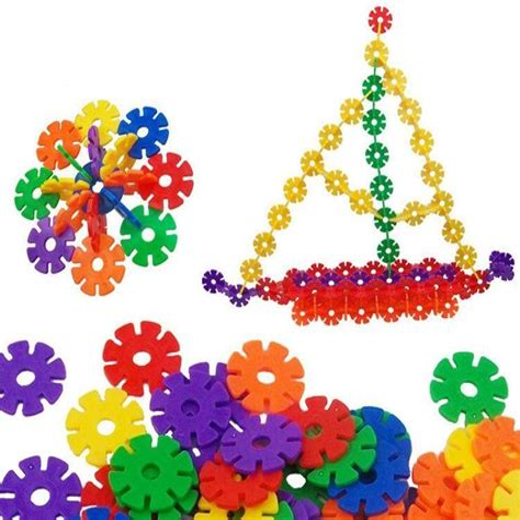 Snowflake-Building-Blocks-Ideas