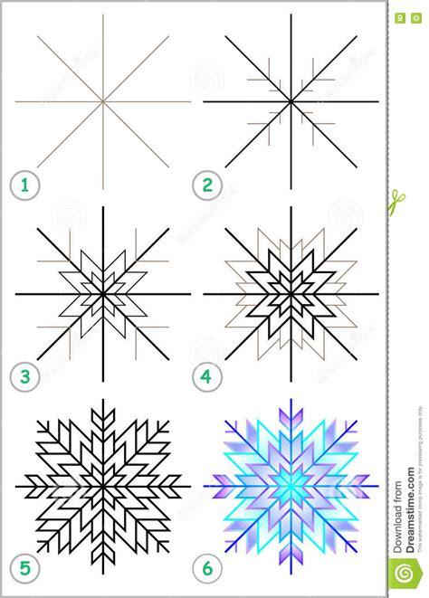 Snowflake-Drawing-Step-By-Step