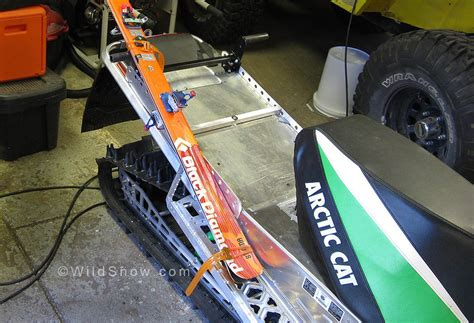 Snowmobile Ski Rack Diy