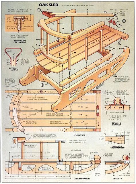 Snowmobile-Wood-Sleigh-Plans