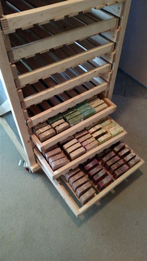 Soap Drying Rack Plans