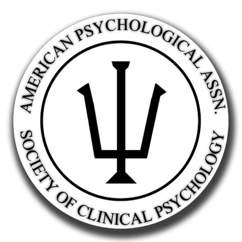 Society For Clinical Psychology Division 12 And Therapeutic Alliance In Clinical Psychology