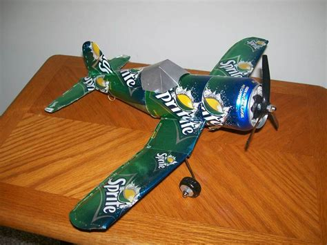 Soda Can Airplane Plans Download