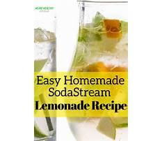 Best Sodastream diet recipes