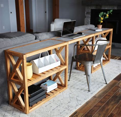 Sofa Back Table Designs
