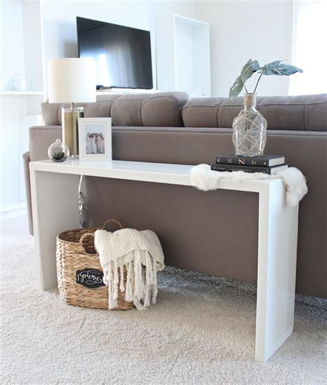 Sofa Back Table Diy Ideas