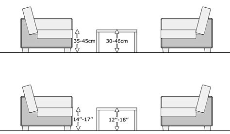 Sofa End Table Dimensions