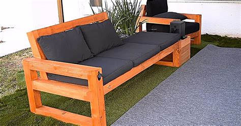 Sofa Patio Wood Diy