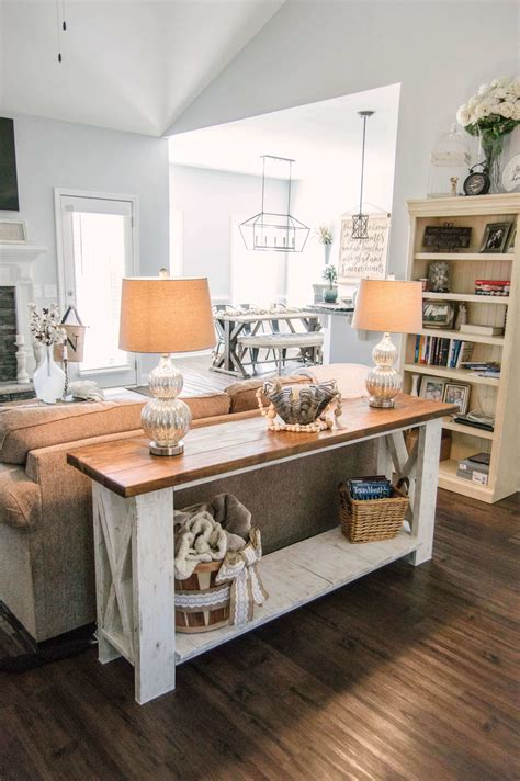 Sofa Table Ideas Diy