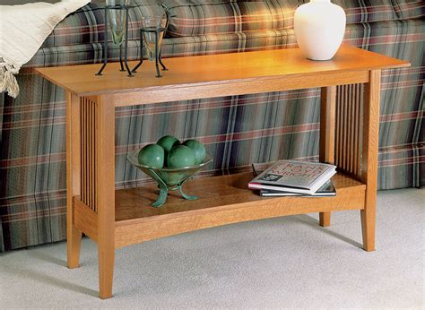 Sofa Table Plans Woodsmith