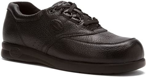 Softspots Men's Grand Prix,Black Leather,US 11 M