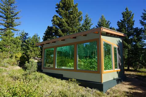 Solar Greenhouse Design Plans