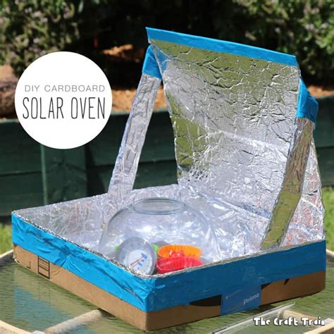 Solar Oven Box Diy Crafts