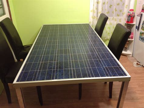 Solar Panel Table Diy Pipe