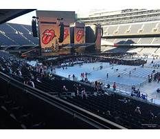 Best Soldier field seating chart media deck