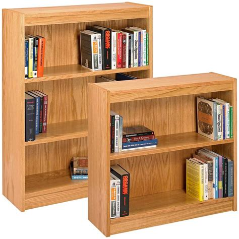 Solid Oak Bookcase Plans