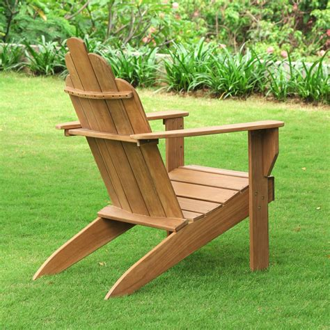 Solid Teak Adirondack Chairs