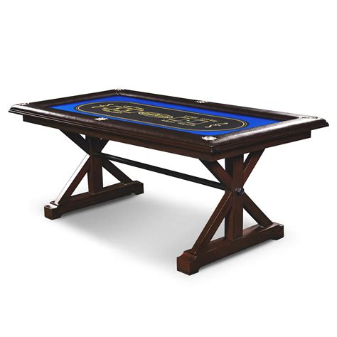Solid Wood Poker Table