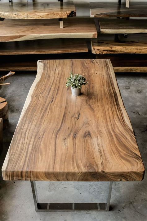 Solid Wood Slab Table Tops Plans