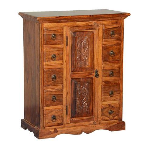 Solid Wood Storage Cabinets With Drawers