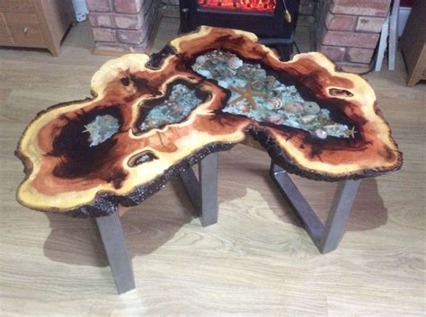 Solid Wood Tables With Resin Diy Projects