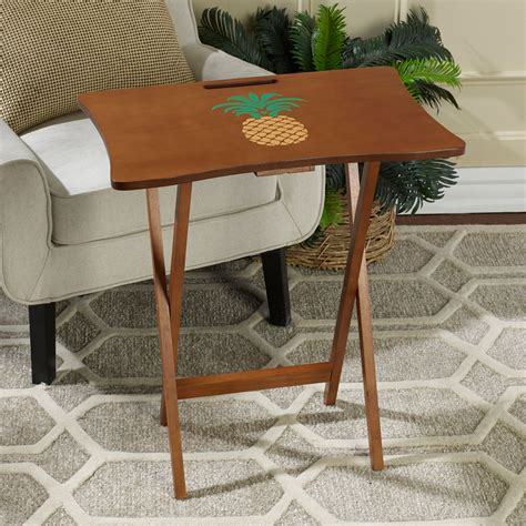 Solid Wood Tray Table Set Plans