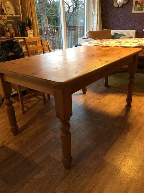 Solid-Pine-Farmhouse-Kitchen-Table