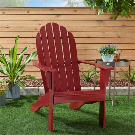Solid-Red-Adirondack-Chairs
