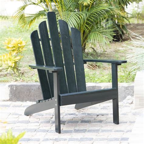 Solid-Wood-Adirondack-Chair-Dark-Green