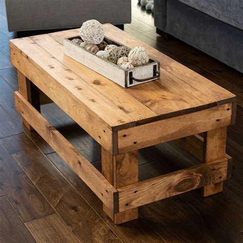 Solid-Wood-Farmhouse-Coffee-Table