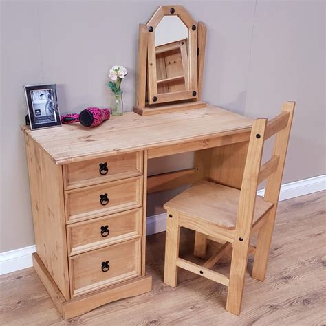 Solid-Wood-Vanity-Table
