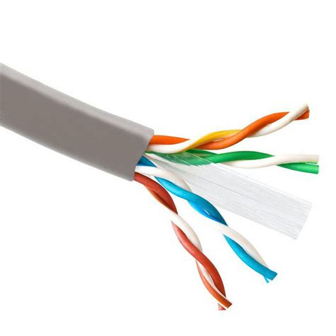 SolidLink 1000ft CAT6 4/UTP Solid Cable 23AWG LAN Network Ethernet RJ45 Wire (Blue)