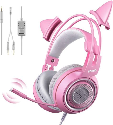 Somic G929 Stereo gaming headset with Removable Mic