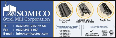 Somico Steel Corporation Philippines