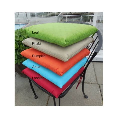 Sonic Diamond Indoor/Outdoor Chair Cushion (Set Of 2)