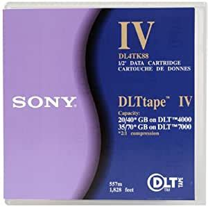 Sony DL4TK88 Digital Linear Tape Cartridge 20/35 GB (1-Pack) (Discontinued by Manufacturer)