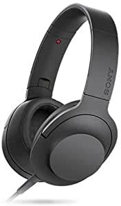 Sony h.ear on MDR-100AAP Headset Stereo Charcoal Black Mini-phone Hi-Res Stereo Wired 24 Ohm 5 Hz 60 kHz Gold Plated Over the head Color Charcoal Balck