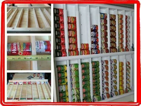Soup Can Storage Diy For Cubbies
