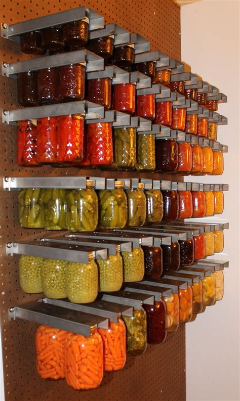 Soup Can Storage Diy With Jars