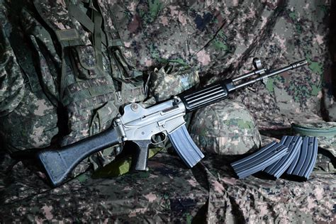 South Korea Standard Assault Rifle And Tactical Assault Rifle Airsoft