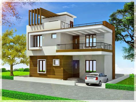 South-Indian-Duplex-House-Plans-With-Elevation-Free