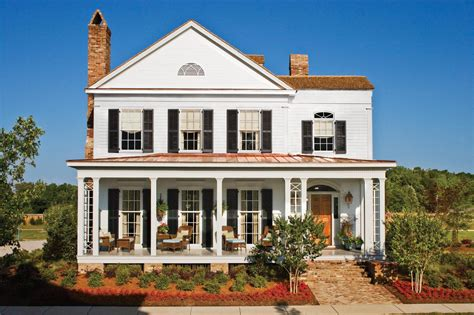 Southern Living 17 Pretty House Plans With Porches