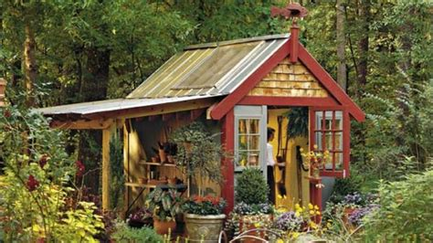 Southern Living Potting Shed Plans