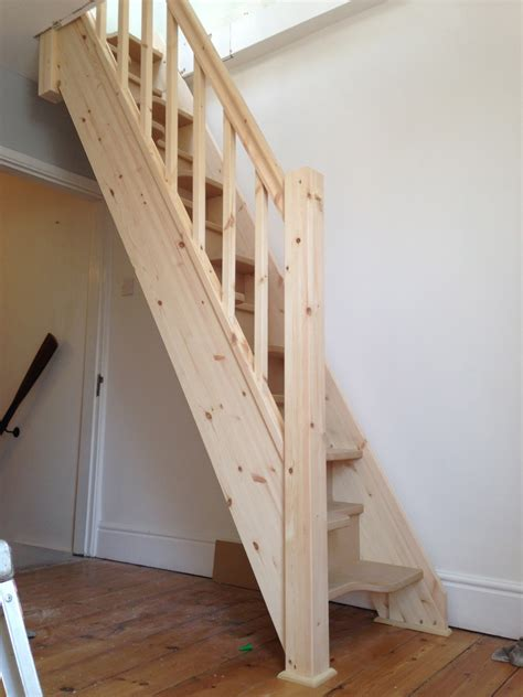 Space Saver Loft Staircase Build