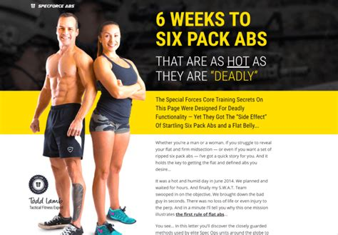 @ Specforce Abs Review - Do These Workouts Get You A Six .