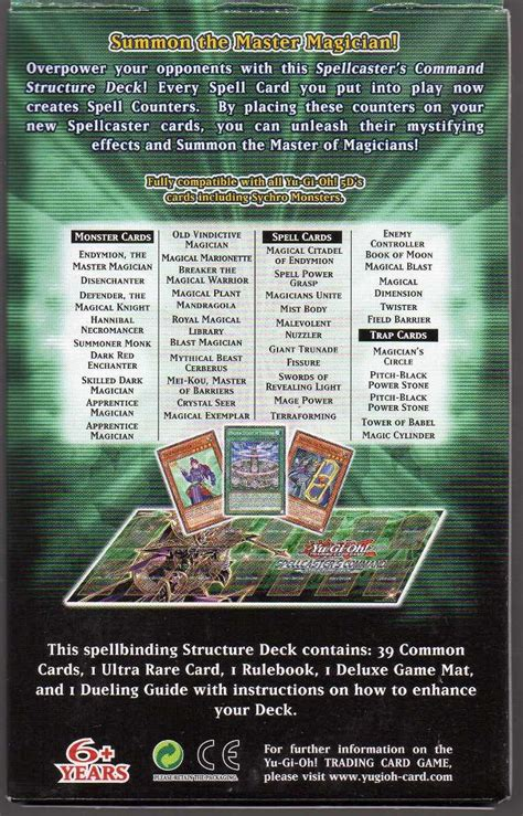 Spellcasters Command Deck Build