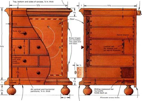 Spice Box Plans Hidden Compartments