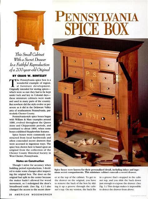 Spice-Box-Plans